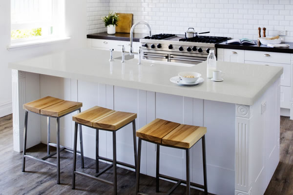 Silestone, Niebla, Kitchen countertop